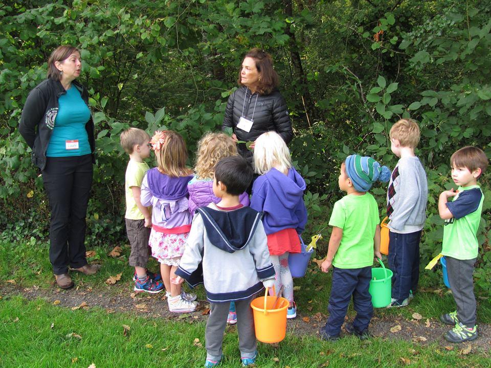 preschool nature walk fall 2017 friends of springbrook park