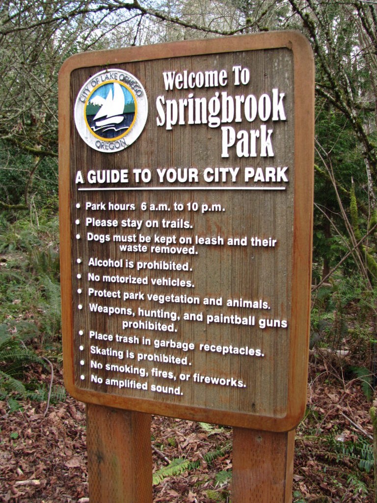 Welcome to Springbrook Park